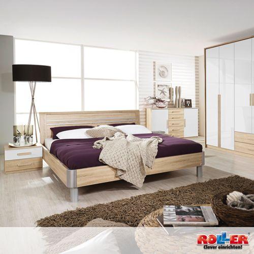 Schlafzimmer BERGEN Gemütliches Schlafzimmer in traumhaft schönem - schlafzimmer weiss hochglanz