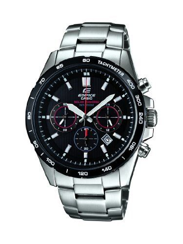 Casio EFR-518SB-1AVEF Mens Edifice Chronograph Watch Casio. $274.99. Date Window . Chronograph. Save 15%!
