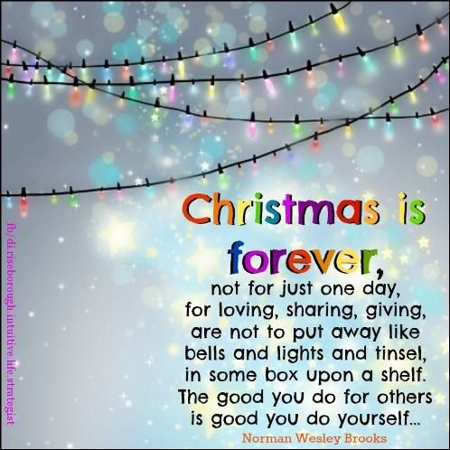 Christmas is not just for one day https://www.facebook.com ...
