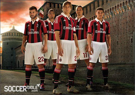 New AC Milan 12/13 1st kit