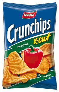 Papryka klasyka na grubym bicie - X-Cut Papryka! ;) #Crunchips #XCut #chips #paprika