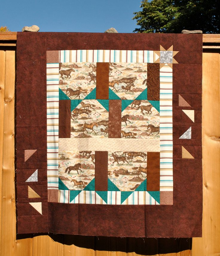 I was experimenting with an idea, trying to play with asymmetry. Donation baby quilt.