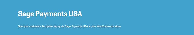 WooCommerce plugins: WooCommerce Sage Payments USA Gateway 1.0.11 Exten...