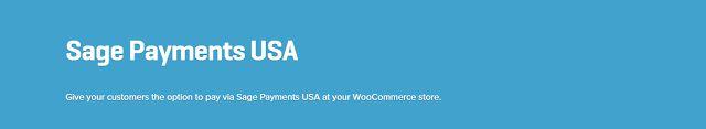 WooCommerce plugins: WooCommerce Sage Payments USA Gateway 1.0.9 Extens...