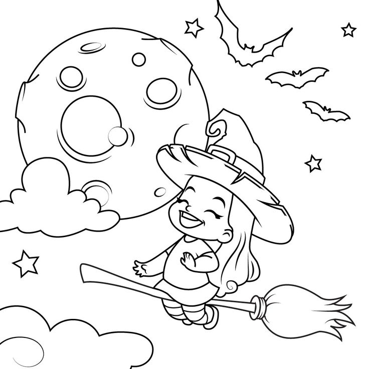 Halloween coloring pages for kids for android ios Coloring book ios
