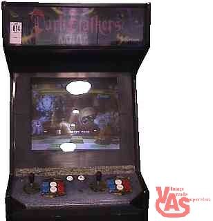 Here's An Original 1994 Dark Stalkers: The Night Warriors Arcade game for sale! This game originally was suppose to be a Universal Monsters game.