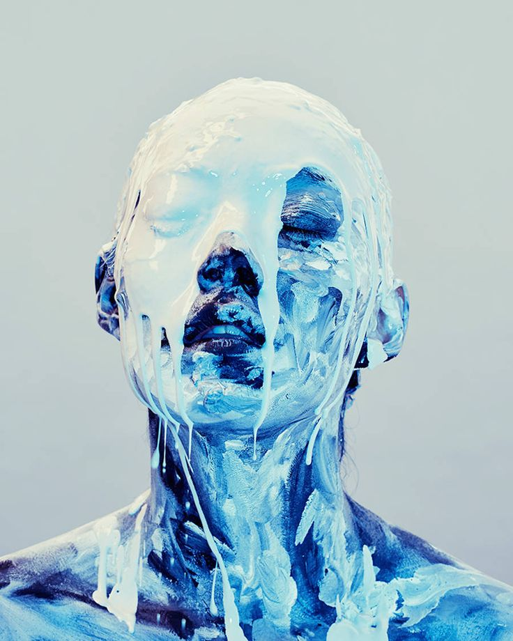 Experimental Abstract Portraits – Fubiz Media