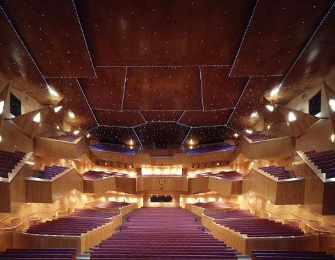 Euskalduna Conference Centre and Concert Hall- BILBAO for the OLBE=ABAO Asoci...