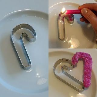 Anti-Langeweile-Ideen: Upcycling von Kerzenresten, Wachsanhänger   veronicard