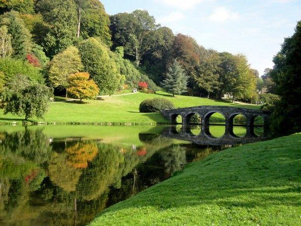 Stourhead Garden Wiltshire England Gardens
