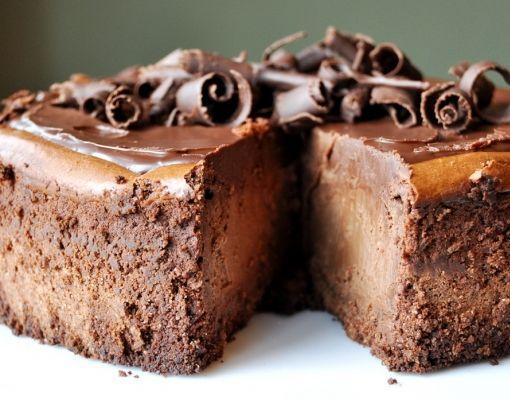 Chocolate Cheesecake  #chocolate #cheesecake #tuzubiberi