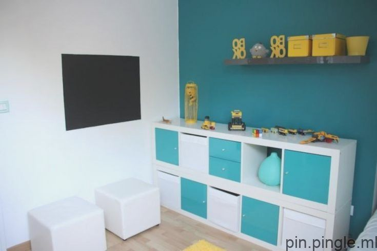 Decoration Chambre Enfant Bleu Et Jaune Bleu Chambre Decoration