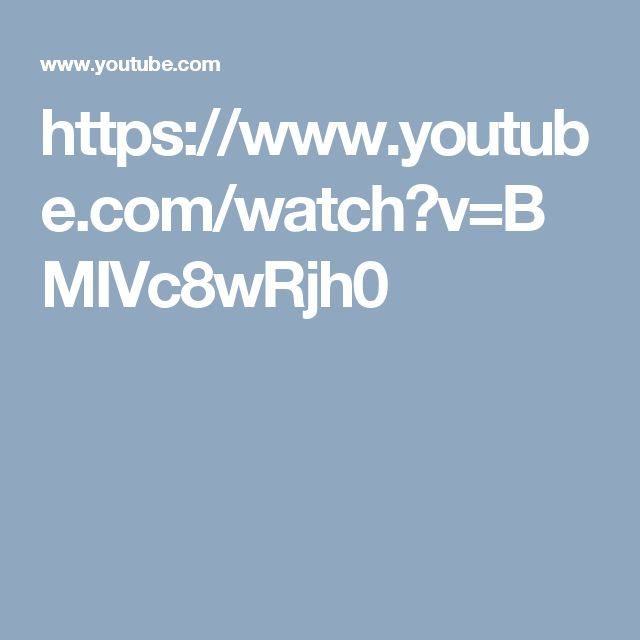 https://www.youtube.com/watch?v=BMIVc8wRjh0