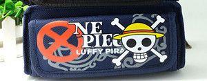 One Piece Estuches School Cartoon Estojo Escolar Skull Game Pencil Cases Pen Bags Box Pouch Astuccio Scolastico Kalem Kutusu