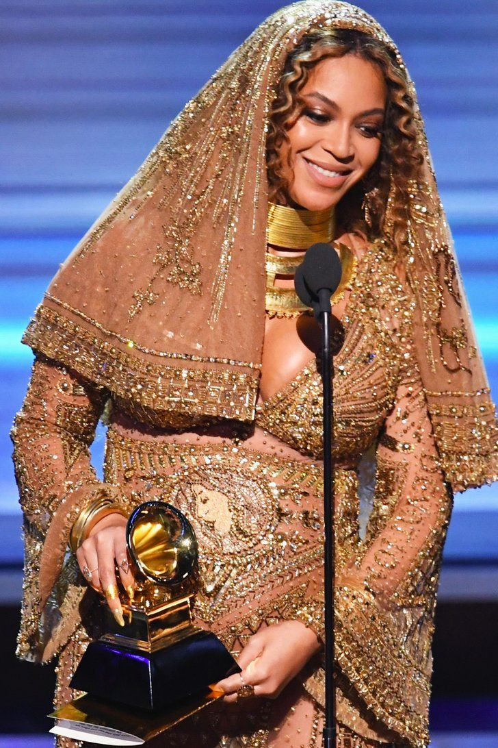 Beyoncé Accepts Her Grammy Award With a Powerful Speech About Representation