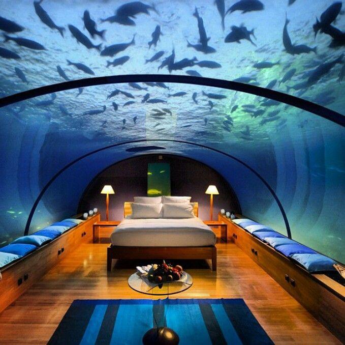 epic underwater bedroom dream house pinterest