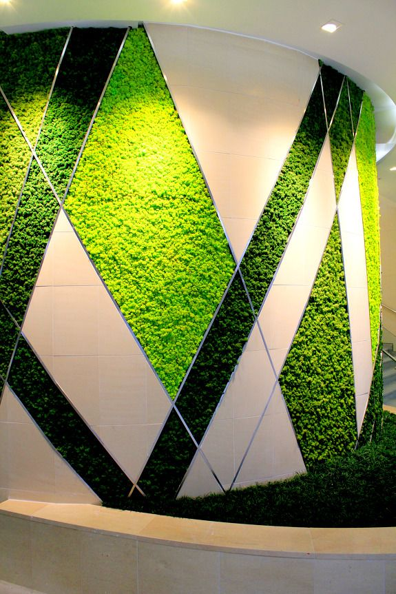 Scandia Moss Is Installed In Somewhere Indoor Place For