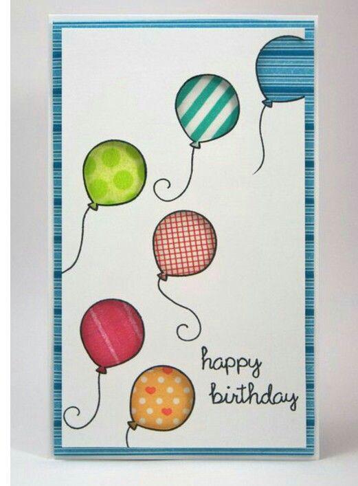 Лет день, рисунок открытка с днем рождения своими руками