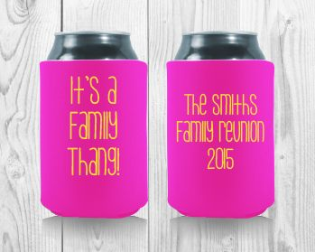 12 Best Family Reunion Koozies Images On Pinterest