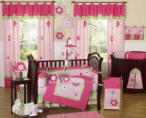 29 best images about lenceria para cuna on pinterest - Cuartos de bebes decorados ...