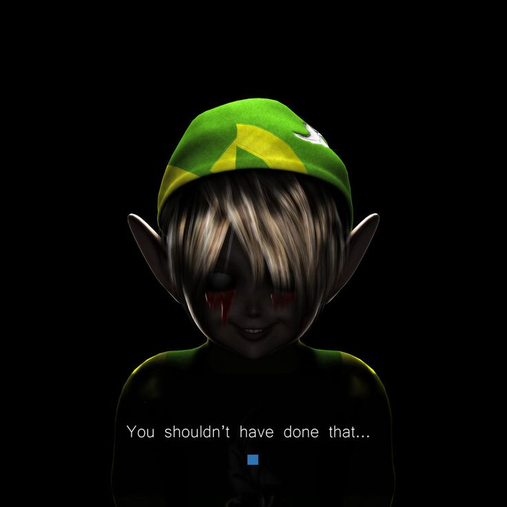 Idk I find ben the most creepy to me and I dont really havent played the legend of zelda.