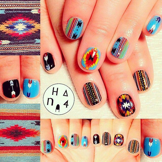 349 best multicoloured nail art wheels images on Pinterest | Nail ...
