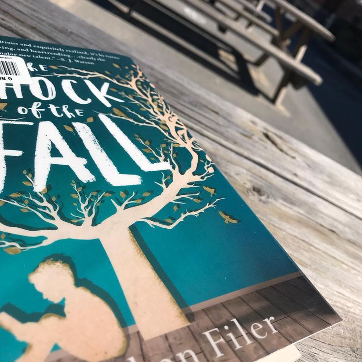Another beautiful day another lunch spent outside reading. . Like Challenger Deep this one is a thought-provoking insightful examination at mental illness. . #amreading #theshockofthefall #nathanfiler #bookstagram #igbooks #igreads #bibliophile #lunchbreakreading #readoutside #librarybook #librarylife #librarian #bookworm #bookphotography #bookphoto #fiction