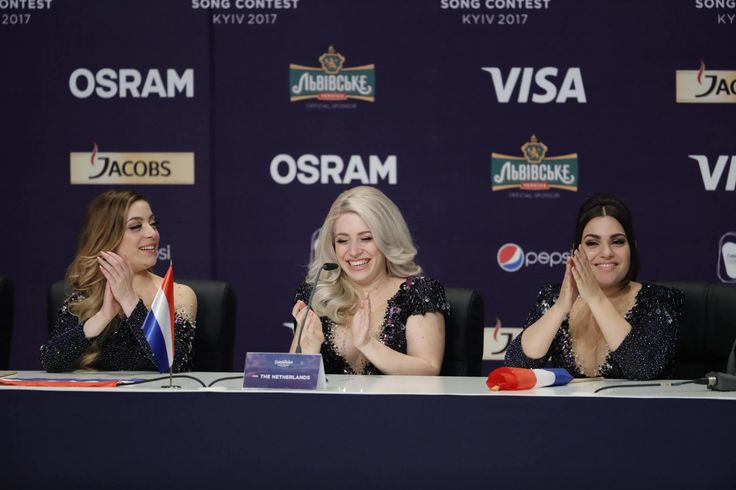 Quotes and pictures from the press conference with ten qualifiers from the second Semi-Final of the 2017 Eurovision Song Contest.