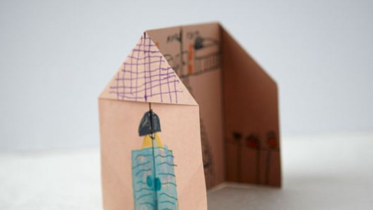 Creativebug - house with both inside and outside, could be used for some great directives related to family relationships, boundaries, transparency, etc.