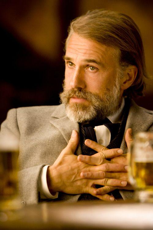 """Christoph Waltz as Dr. King Schultz in 'Django Unchained' """"Auf wiedersehen."""""""