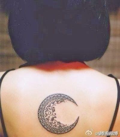Moon design tattoo | World tattoo