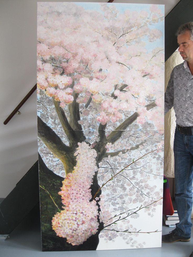Dyptic  ©Asta Rudminaite 2015 2x100cmx100cm
