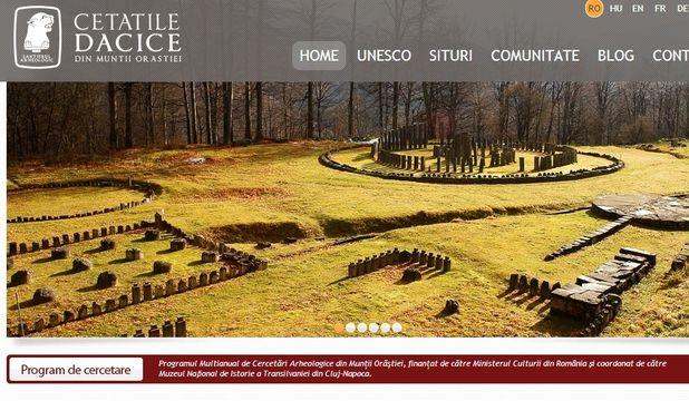 Un nou portal dezvăluie tot ce vrei să afli despre cetăţile dacice din Munţii Orăştiei