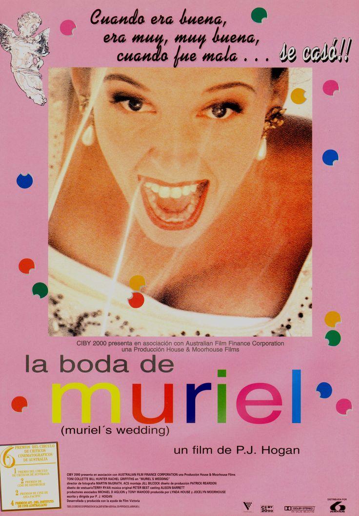 muriel's wedding (spanish poster) [p.j. hogan, 1994