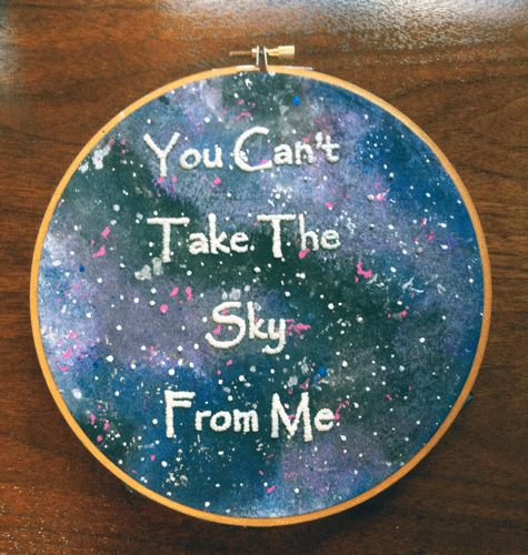 I love this quote from Firefly.  Definitely need to make something to this theme!