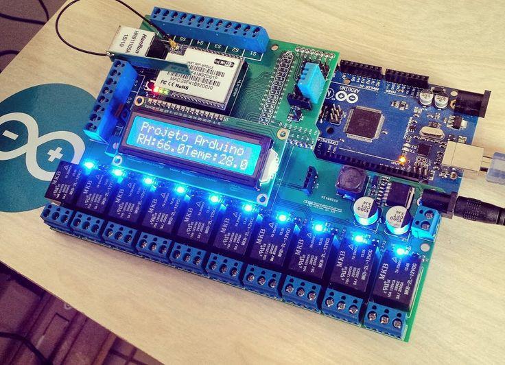 Conheça o Shield Automação e Alarme Residencial V5, brasileiro! O pessoal do Projeto Arduino criou um Shield para Arduino voltado à domótica.