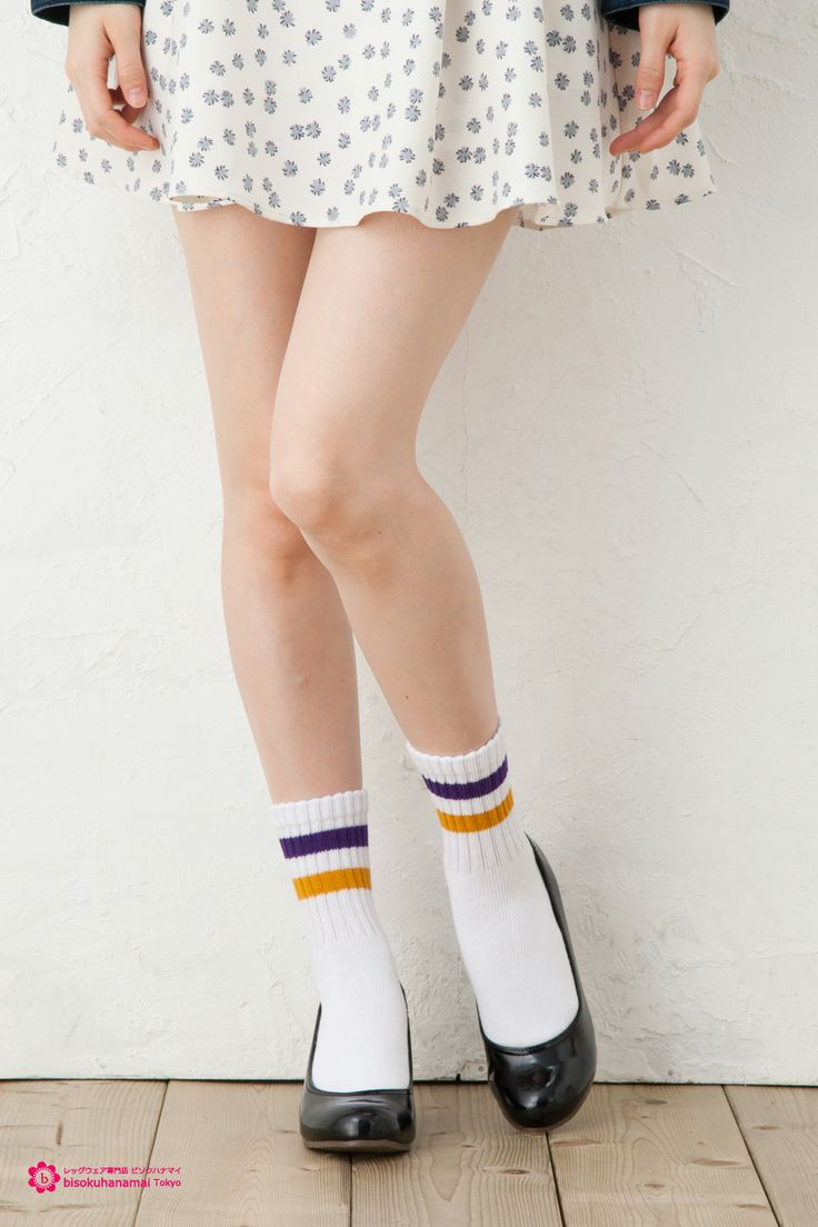 Multi color line socks JPY334(without TAX)