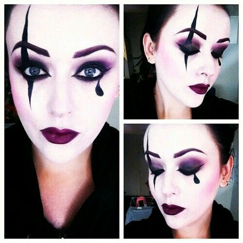 Maquillaje arlequín.