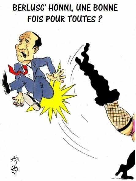 Chrib - Christophe Beaux (2018-03-04) Italie: élections,  Berlusconi