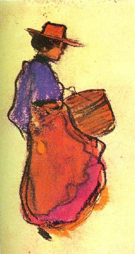 Pablo Picasso, 1900 Midinette de Paris