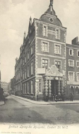 British Lying In Hospital, Endell Street, Holborn