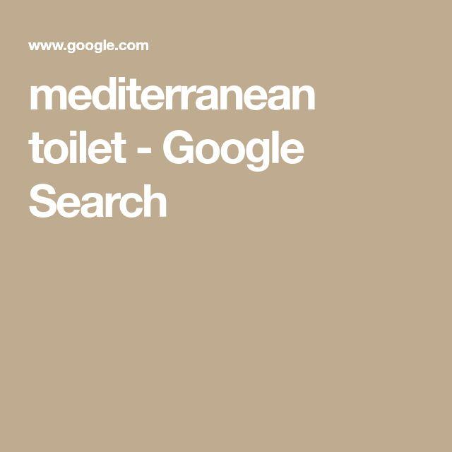 mediterranean toilet - Google Search