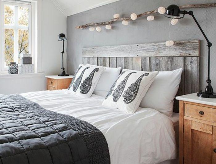 Les 25 meilleures id es de la cat gorie id es d co chambre - Couleur qui va bien avec le gris ...