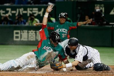 Tokio, Japón (lmb.com.mx   Gabriel Medina) 10 de noviembre.- En una velada histórica para el beisbol mexicano, el equipo nacional se impuso ...