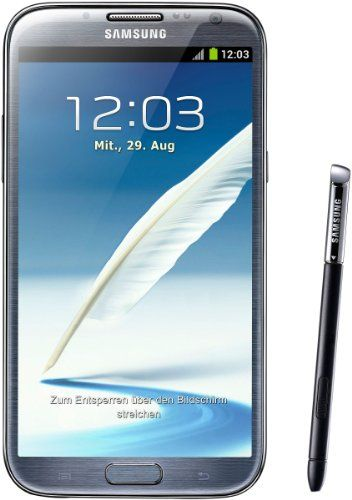 Cell Phone Prices, Reviews, MP3 Players and Accessories » Samsung Galaxy Note II GT-N7100 – factory unlocked- 16GB Gray