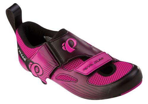 Pearl Izumi 2014 Women's Tri Fly IV Carbon Triathlon Bike Shoes Pink Black 39 5 | eBay