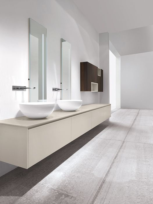 Design: #bathroom #interiors #minimalism - CASABATH - HiTech 2 Collection
