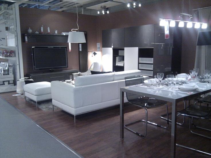 coin salon ikea tourville la rivi re salones ikea pinterest tourville la riviere salon. Black Bedroom Furniture Sets. Home Design Ideas