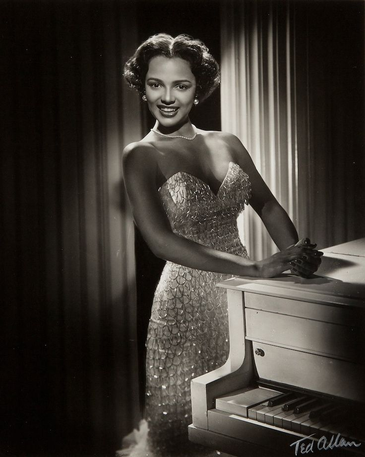 Dorothy Dandridge, c1953 (Ted Allan)