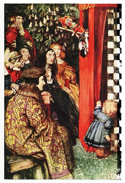 """Eleanor Fortescue-Brickdale, from """"Dramatis Personae"""""""